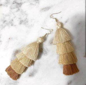 Tassel earrings